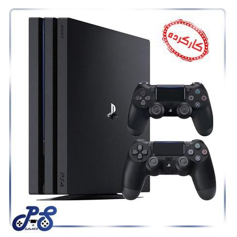 کنسول-بازی-playstation4-مدل-pro-دو-دسته-ریجن-2-(کارکرده)