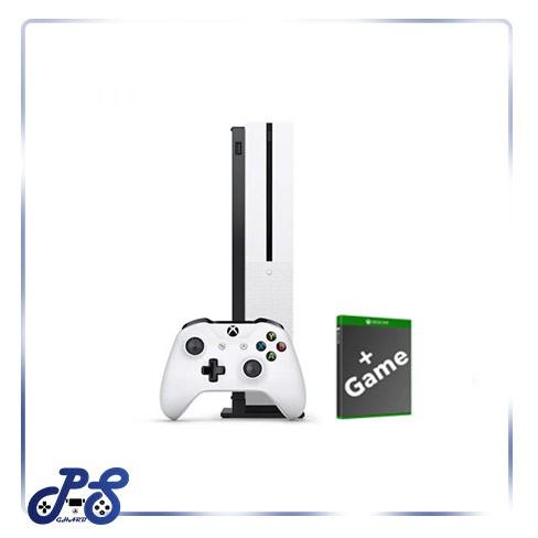کنسول-بازی-xbox-one-s-white-به-همراه-بازی
