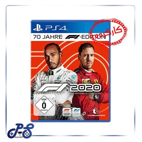 خرید بازی f1 2020 ریجن 2 برای PS4 کارکرده
