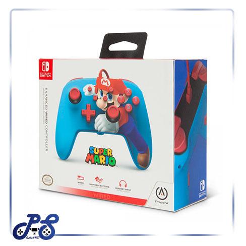 کنترلر PowerA Enhanced نینتندو سوییچ - طرح Super Mario